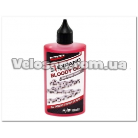 Смазка для цепи EXPAND Chain Bloody oil dry/wet универсальная 100ml