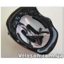 Зажим трубы седла Черный алюминиевый под диаметр рамы 31,8 мм с эксцентриком