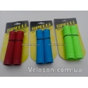 Ручки руля грипсы фирмы SPELLI прямые  круглые, изготовлены из качественного резино-каучукового материала