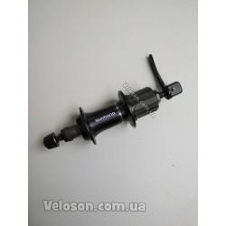 Тормоз дисковый механический машинка Shimano BR-TX805R Черная калипер с колодками и адаптером IS 140/160