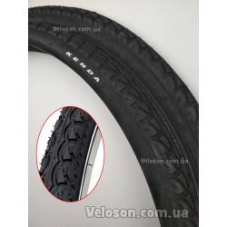 Втулка задняя стальная QUANDO KT-122R 14Gx36H черная под трещетку/V-brake