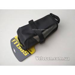 Флягодержатель подфляжник крепление фляги пластиковый черный под емкость 0,7-0,75 л.