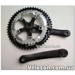 Рога белые алюминиевые рожки для велосипеда