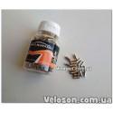 Грипсы ручки с красными Lock замками 130 мм с заглушками в руль