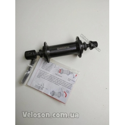 Втулка передняя Shimano HB-TX500 алюминиевая 14Gx36H v-brake чёрная