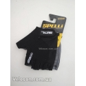 Перчатки Spelli SBG-1457 без пальцев L-XL черные с гелевыми вставками под ладонь