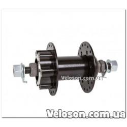 Грипсы Velo VLG-1115AD2 черные 135 мм. эргономические