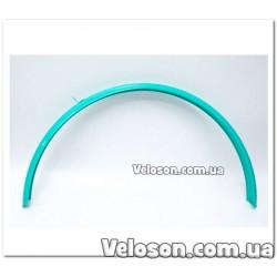 Зеркало компактное овал стекло быстросьемное с регулировками поворот наклон