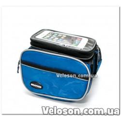 Фляга алюминий + пластик с клапаном Обьем - 0.75 л