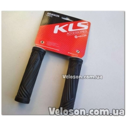 Ручки руля грипсы KLS Advancer 17 2Density черний
