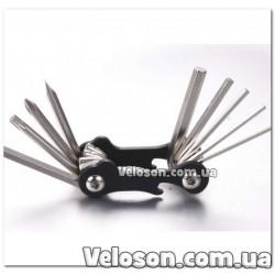 Велосумка на багажник черный с отражающей полосой QIJian QJ-045