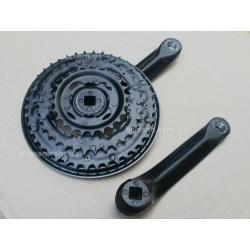 Тормозной набор V - Brake тормозов с черный ручками алюминий