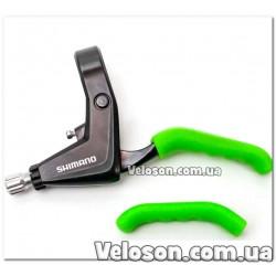 Обмотка руля велосипеда красная с черным