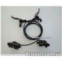 Тормоз гидравлический дисковый Shimano MT400 Acera полный комплект (сет) на оба колеса переднее и заднее