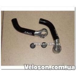 """Рукоятки ручки на руль """"Полоски"""" 125 мм Тайвань"""