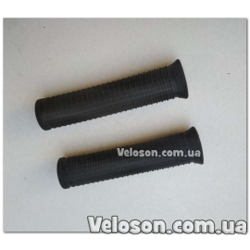 Грипсы ручки руля TPR L 120 мм черные XH-G07