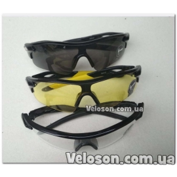 Очки защитные велосипедные прозрачные/тонированные на выбор