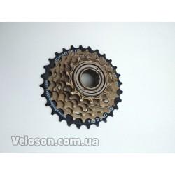 Переключатель триггер манетка Microshift TS70 3*8 передач Новый. Алюминиевый корпус