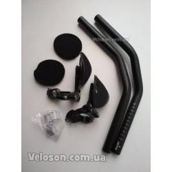 Зажим трубы сидения UNO Ø34,9мм (алюминиевой рамы) c эксцентриком черный