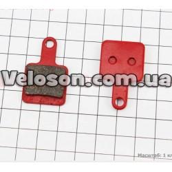 Звонок на руль KLS - Bang Красный