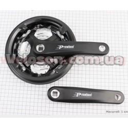 """Педали Neco  WP625 широкие 9/16"""" алюминиевые к-кт, черные"""