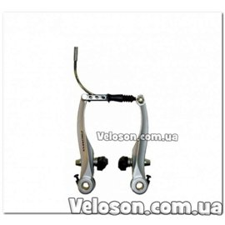 Тормоз V-BRAKE PROMAX X117 комплект серебро цвет на 1 колесо