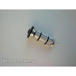 Ручки руля грипсы фирмы SPELLI SBG-660L прямые  круглые, изготовлены из качественного резино-каучукового материала