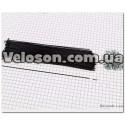 Подседельный глагол штырь  Ø 27.2 алюминиевый черный L- 350 мм