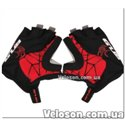 Перчатки GUB S036 велосипедные чёрно-красный размер XL