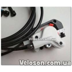 Манетки моноблок переключатели Shimano ST-EF41 3х6 передач комплект левая и правая