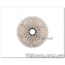 Седло спортивное велосипедное зеленая полоса с замком седла