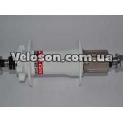 Ручки руля Velo VLG-1389D2 130 мм грипсы черный с красным