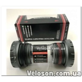 Каретка VENZO ROAD Shimano HOLLOWTHECH II 68/73мм серебристая