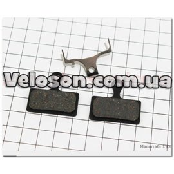 Тормозные колодки диск. тормоз к-кт (Shimano SLX M666, BR-M985, XTR 2011, XT BR-M785), YL-1020 Andson